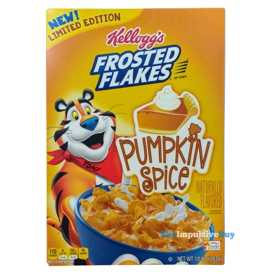 Kellogg s Limited Edition Pumpkin Spice Frosted Flakes