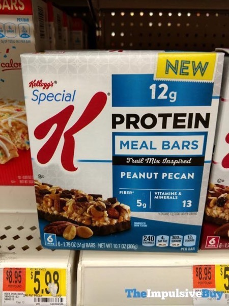 Kellogg s Special K Peanut Pecan Protein Meal Bars