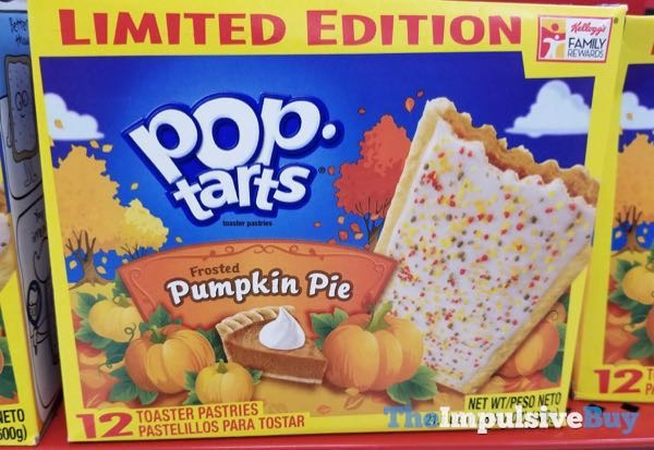 Limited Edition Frosted Pumpkin Pie Pop Tarts  2014 Design