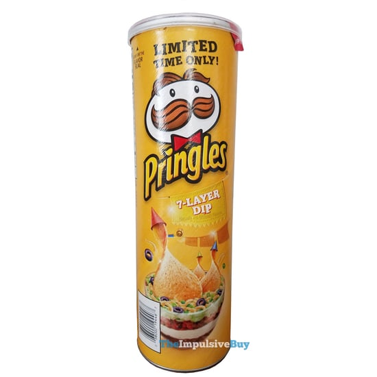 QUICK REVIEW: Limited Time Only 7-Layer Dip Pringles