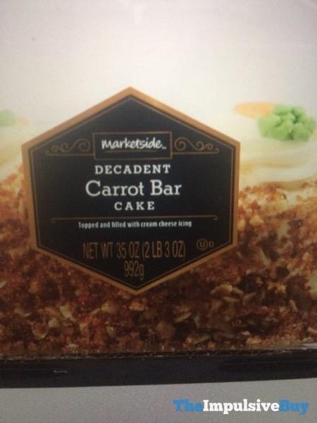 Marketside Decadent Carrot Bar Cake