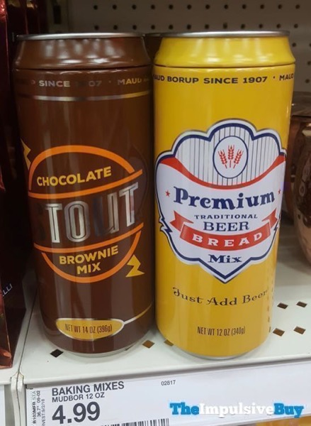 Maud Borup Chocolate Stout Brownie Mix and Premium Beer Bread Mix