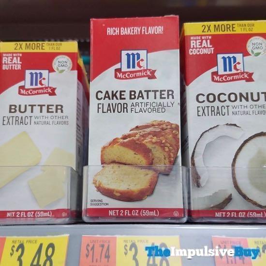 McCormick Cake Batter Flavor