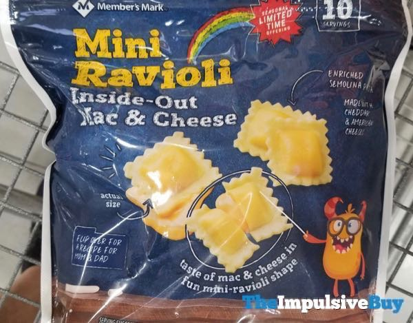 Member s Mark Mini Ravioli Inside Out Mac  Cheese