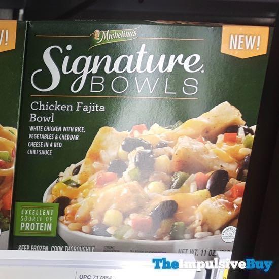Michelina s Signature Bowls Chicken Fajita Bowl