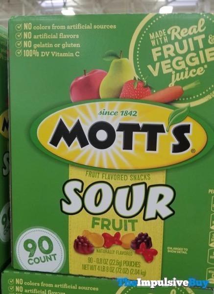 Mott s Sour Fruit Snacks