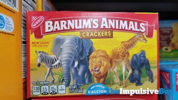 Nabisco Barnum s Animals Crackers 2018 Box Design