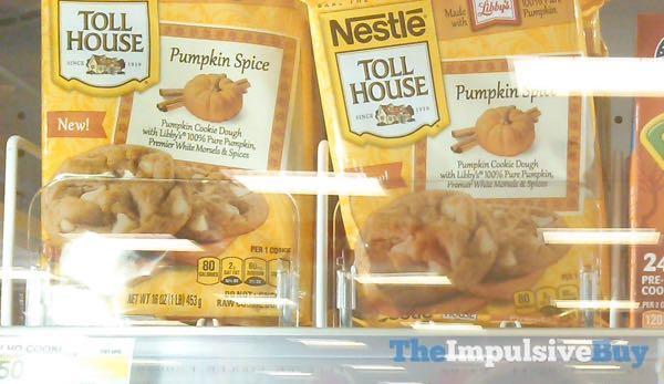 Nestle Toll House Pumpkin Spice Cookie Dough  2014