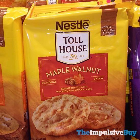 Nestle Toll House Seasonal Batch Maple Walnut Cookie Dough