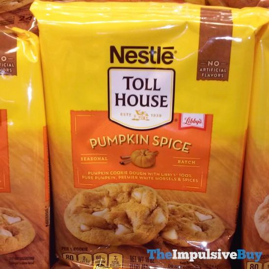 Nestle Toll House Seasonal Batch Pumpkin Spice Cookie Dough 18DJGiant