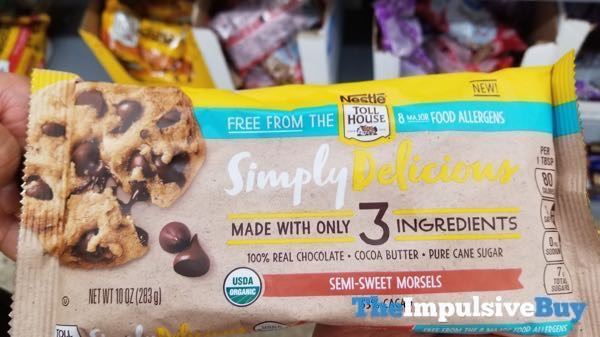 Nestle Toll House Simply Delicious Semi Sweet Morsels