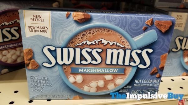 New Recipe Swiss Miss Marshmallow Hot Cocoa Mix