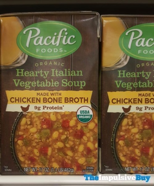 Pacific Food Organic Hearty Italian Vegetable Soup Made With Chicken