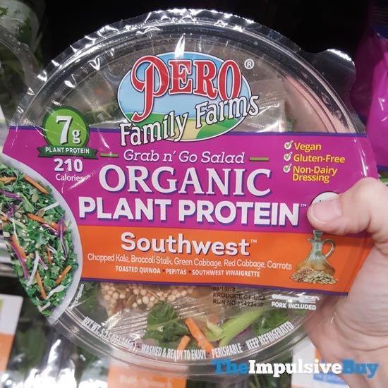 Pero Family Farms Grab n Go Salad Organic Plant Protein Southwest