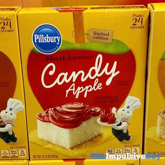 Pillsbury Limited Edition Moist Supreme Candy Apple Premium Cake Mix