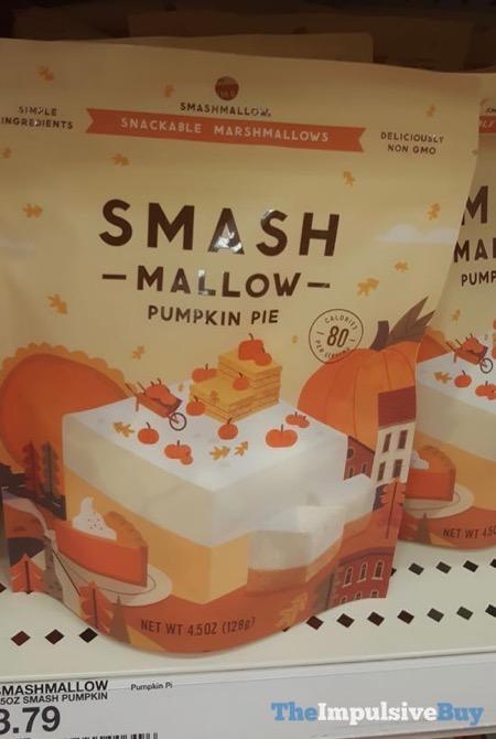 Smashmallow Pumpkin Pie Snackable Marshmallow