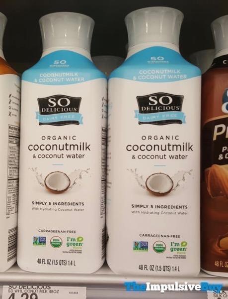 So Delicious Organic Coconutmilk  Coconut Water