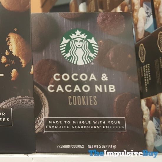 Starbucks Cocoa  Cacao Nib Cookies