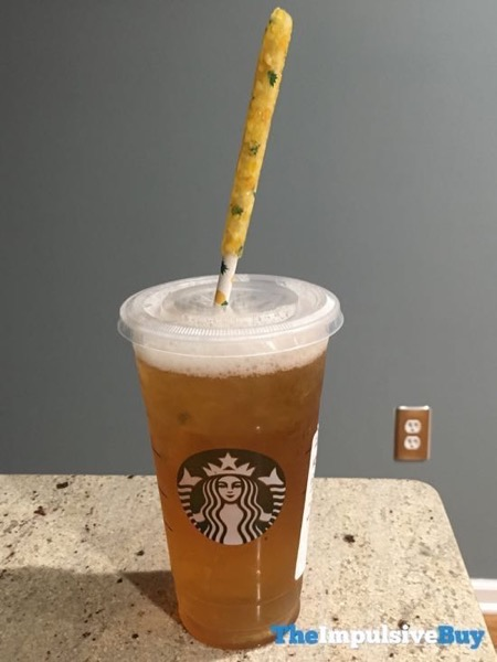 Starbucks Pineapple Iced Tea Straw 3