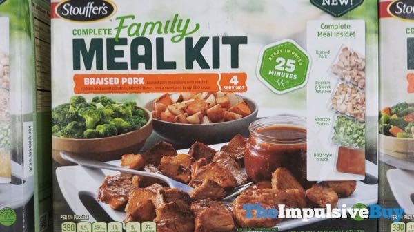 Stouffer s Complete Family Meal Kit Braised Pork