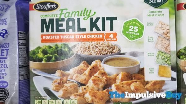 Stouffer s Complete Family Meal Kit Roasted Tuscan Style Chicken