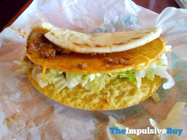 Taco Bell Double Cheesy Gordita Crunch