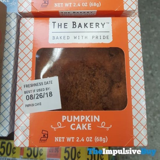 The Bakery at Walmart Pumpkin Cake