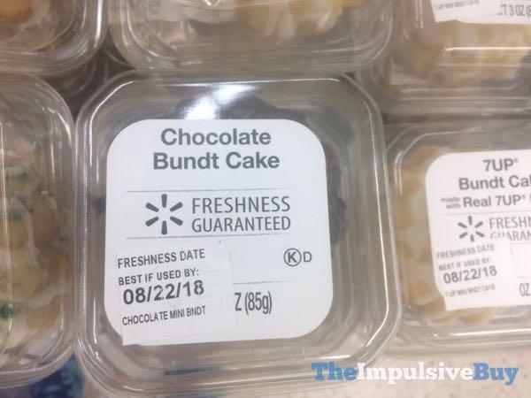 Walmart Chocolate Bundt Cake