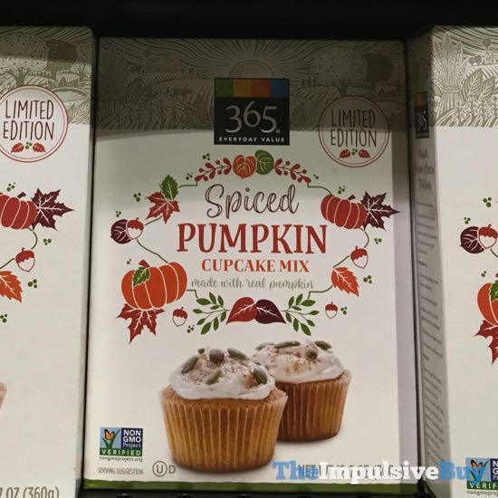 365 Everyday Value Limited Edition Spiced Pumpkin Cupcake Mix
