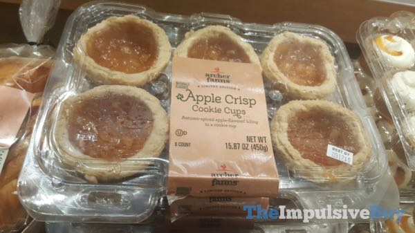Archer Farms Limited Edition Apple Crisp Cookie Cups