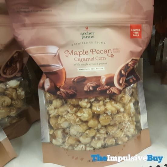 Archer Farms Limited Edition Maple Pecan Caramel Corn
