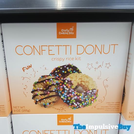 Crafty Cooking Kits Confetti Donut Crispy Rice Kit