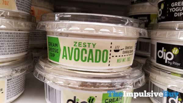 Dip It by Pilar Zesty Avocado Cream Cheese Dip