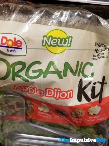 Dole Fresh Apple Dijon Organic Kit