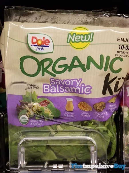 Dole Fresh Savory Balsamic Organic Kit