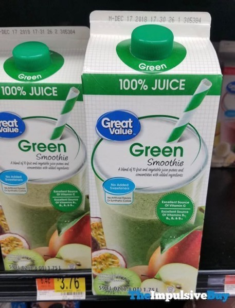 Great Value Green Smoothie