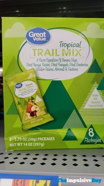 Great Value Tropical Trail Mix 8 Pack