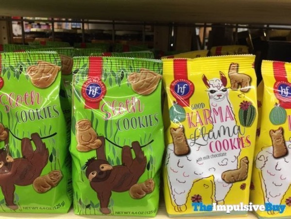 Hans Freitag Sloth Cookies and Good Karma Llama Cookies