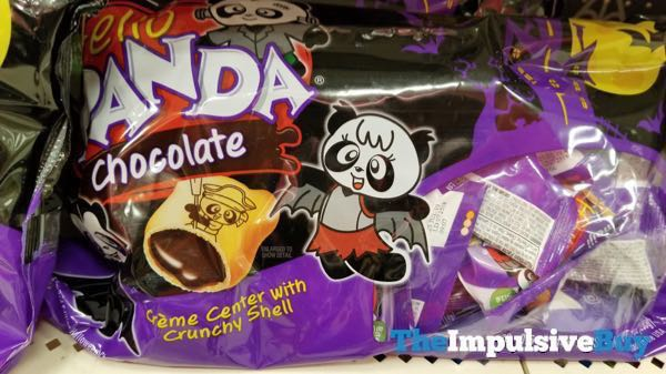Hello Panda Chocolate Halloween Packaging