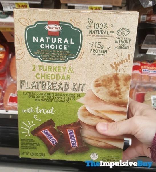 Hormel Natural Choice Turkey  Cheddar Flatbread Kit