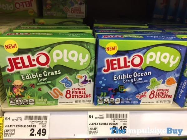 Jello Play Edible Grass and Edible Ocean