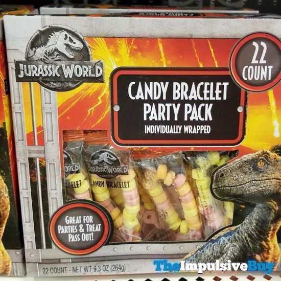 Jurassic World Candy Bracelet Party Pack