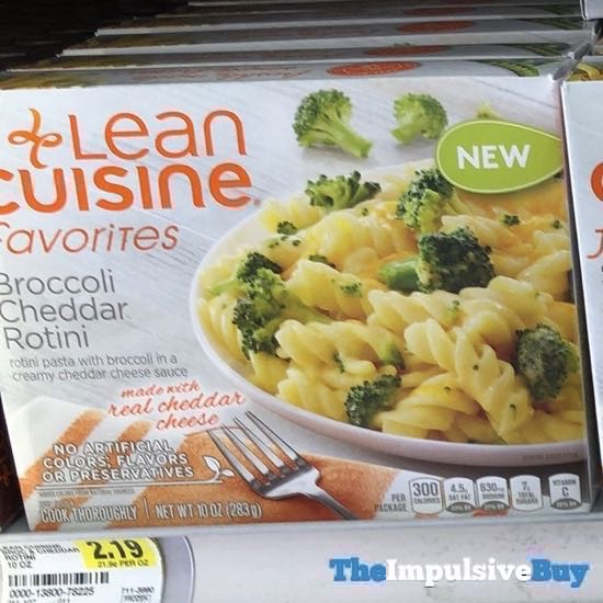 Lean Cuisine Favorites Broccoli Cheddar Rotini
