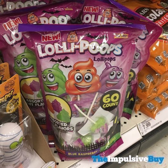 Lolli poops Halloween Lollipops