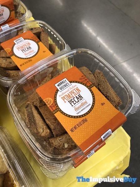 Market District Pumpkin Pecan Biscottini