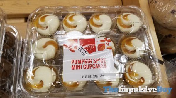 Market Pantry Pumpkin Spice Mini Cupcakes