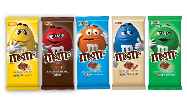 M&M's Chocolate Bars