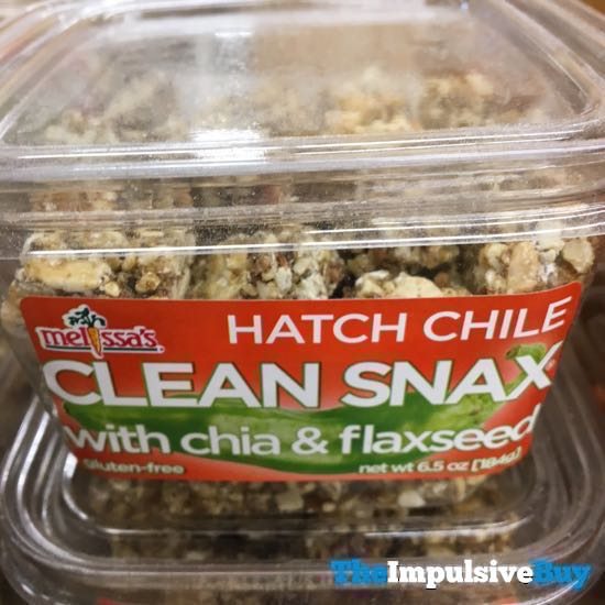 Melissa s Hatch Chile Clean Snax with Chia  Flaxseed