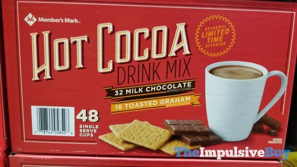 Member s Mark Seasonal Limited Time Hot Cocoa Drink Mix