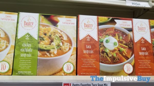 Pantry Favorites Chicken Enchilada and Taco Soup Mixes